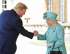 President Trump state visit to UK - Day One 3 June 2019