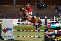 Tebbel Justine, GER, Light Star<br /> Young Riders European Championships Jumping <br /> Samorin 2017© Hippo Foto - Dirk Caremans<br /> 13/08/2017,
