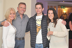 Ann Shanahan, Ian Smith, Ed and Miranda Shanahan at the 'Secret Supper' that was part of the Westport Food Festival.<br /> Pic Conor McKeown