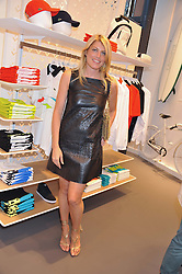 MEREDITH OSTROM at a party to celebratethe opening of the Lacoste Flagship Store at 44 Brompton Road, Knightsbridge, London on 20th June 2012.