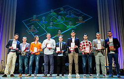 Awarded best footballer of year 2014 during SPINS XI Nogometna Gala event when presented best football players of Prva liga Telekom Slovenije, on May 14, 2014 in Hotel Union, Ljubljana, Slovenia. Photo by Vid Ponikvar / Sportida