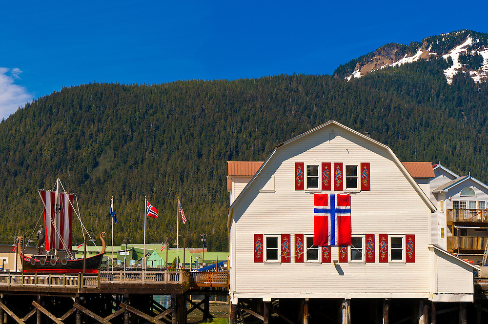 Sons of Norway Hall, Petersburg, Southeast Alaska USA