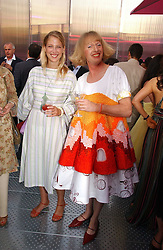 LADY GABRIELLA WINDSOR and GRAYSON PERRY at the Serpentine Gallery Summer party sponsored by Yves Saint Laurent held at the Serpentine Gallery, Kensington Gardens, London W2 on 11th July 2006.<br />