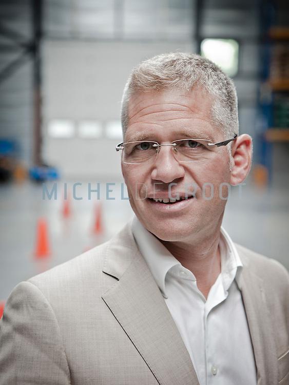 Machiel van der Kuijl, directeur van logistiek opleidingscentrum EVO