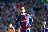 FC Barcelona's Gerard Pique during La Liga match.December 23,2017. (ALTERPHOTOS/Acero)