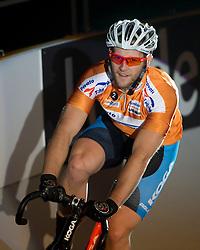 08-01-2012 WIELRENNEN: RABOBANK ZESDAAGSE: ROTTERDAM<br /> Sprinter Teun Mulder<br /> (c)2012-FotoHoogendoorn.nl / Peter Schalk