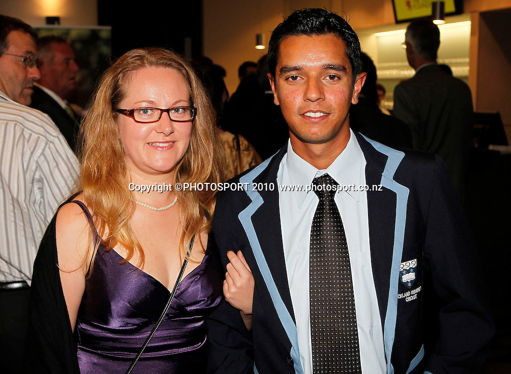 Auckland Cricket Awards Dinner, Eden Park South Stand, Thursday 14 April 2011. Photo: Simon Watts/photosport.co.nz