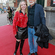 NLD/Amsterdam/20130424- Filmpremiere Boven is het Stil, Rob Houwer en partner Romy