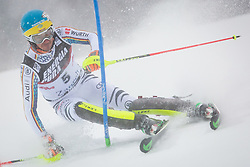 """Felix Neureuther (GER) during FIS Alpine Ski World Cup 2016/17 Men's Slalom race named """"Snow Queen Trophy 2017"""", on January 5, 2017 in Course Crveni Spust at Sljeme hill, Zagreb, Croatia. Photo by Ziga Zupan / Sportida"""
