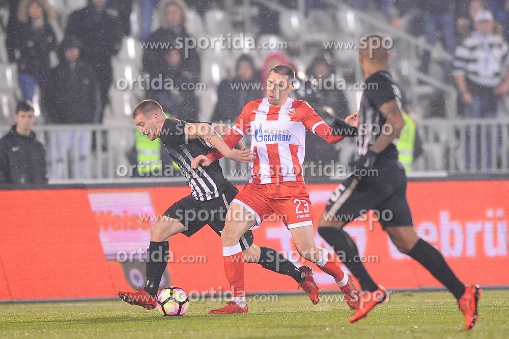 PARTIZAN vs CRVENA ZVEZDA<br /> Beograd, 13.12.2017.<br /> foto: Nebojsa Parausic<br /> <br /> Fudbal, Partizan, Crvena zvezda, XYZ