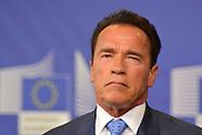 Arnold Schwarzenegger at European Parlement