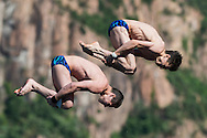 Team RUSSIA - GIULEV Magomed STROEV German <br /> Bolzano, Italy <br /> 22nd FINA Diving Grand Prix 2016 Trofeo Unipol<br /> Diving<br /> Men's 10m synchronised platform final <br /> Day 01 15-07-2016<br /> Photo Giorgio Perottino/Deepbluemedia/Insidefoto