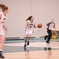 Women's Basketball Playoff Game on February  16 at Centre for Kinesiology, Health and Sport. Credit: Arthur Ward/Arthur Images