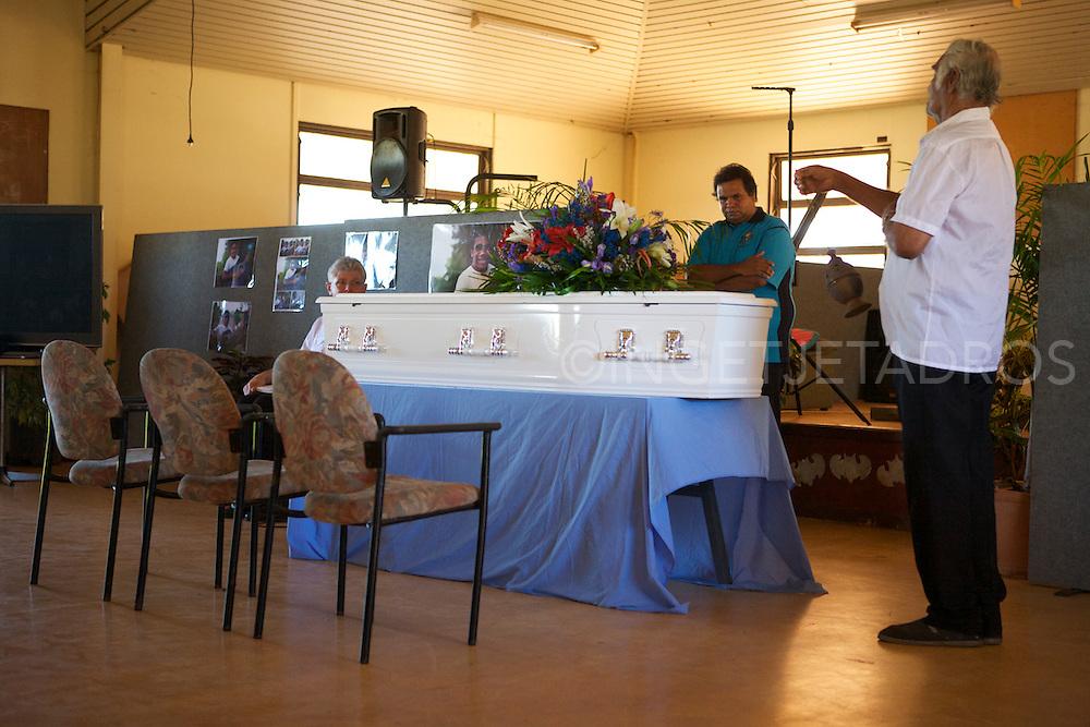 Funeral Hubert Stumpagee-One Arm Point