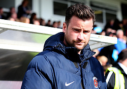 Hartlepool United manager Matthew Bates - Mandatory by-line: Robbie Stephenson/JMP - 06/05/2017 - FOOTBALL - The Northern Gas and Power Stadium (Victoria Park) - Hartlepool, England - Hartlepool United v Doncaster Rovers - Sky Bet League Two