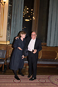 RICHARD WENTWORTH, TenTen. The Government Art Collection/Outset Annual Award. Champagne reception to announce the inaugural artist Hurvin Anderson and unveil his 2018 print. Locarno Suite, Foreign and Commonwealth Office. SW1. 2 October 2018