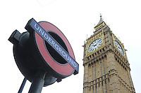 Big Ben. Clock Tower - Palace of Westminster,