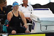 Sarah Fuhrer, womens 200m freestyle, New Zealand Short Course Swimming Championships, Sir Owen G. Glenn National Aquatic Centre, AUT Millennium, Auckland. 11 August 2015. Copyright Photo: William Booth / www.photosport.nz