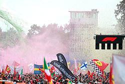 September 2, 2018 - Monza, Italy - Motorsports: FIA Formula One World Championship 2018, Grand Prix of Italy, .Fans  (Credit Image: © Hoch Zwei via ZUMA Wire)
