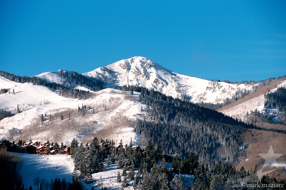 Jupiter Peak with Deer Valley in foreground