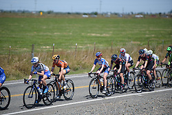 Megan Guarnier at Amgen Breakaway from Heart Disease Women's Race empowered with SRAM (Tour of California) - Stage 3. A 118km road race from Elk Grove to Sacramento, USA on 13th May 2017.