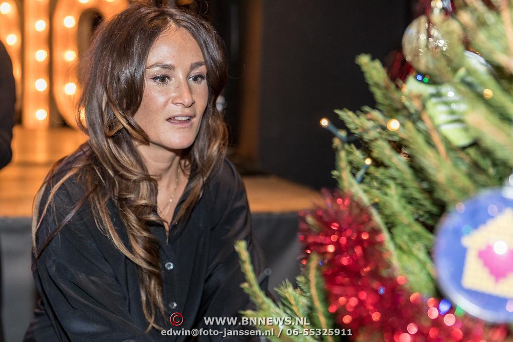 NLD/Amsterdam/20191206 - Sky Radio's Christmas Tree For Charity 2019, Saar Koningsbergen
