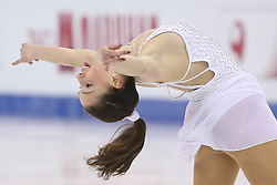 Giada Russo of Italy performs during the Ladies free skating program during the ISU World Figure Skating Championships at Shanghai Oriental Sports Center in Shanghai, China, 28 March 2015.