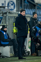 coach Erwin van de Looi of Willem II during the Dutch Eredivisie match between sc Heerenveen and Willem II Rotterdam at Abe Lenstra Stadium on March 03, 2018 in Heerenveen, The Netherlands