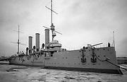 Battleship Potemkin in Leningrad - USSR - 1988