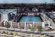 Southern Methodist University tennis stadium in Dallas, Texas. (PHOTO BY KEVIN BARTRAM)
