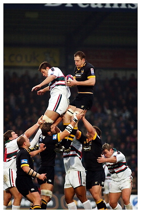 London Wasps v Leicester Tigers. 21-11-04.Season 2004-2005.