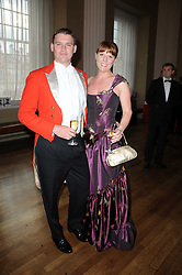 JAMIE FLANAGAN and ROZ BULMER at the 13th annual Russian Summer Ball held at the Banqueting House, Whitehall, London on 14th June 2008.<br /><br />NON EXCLUSIVE - WORLD RIGHTS