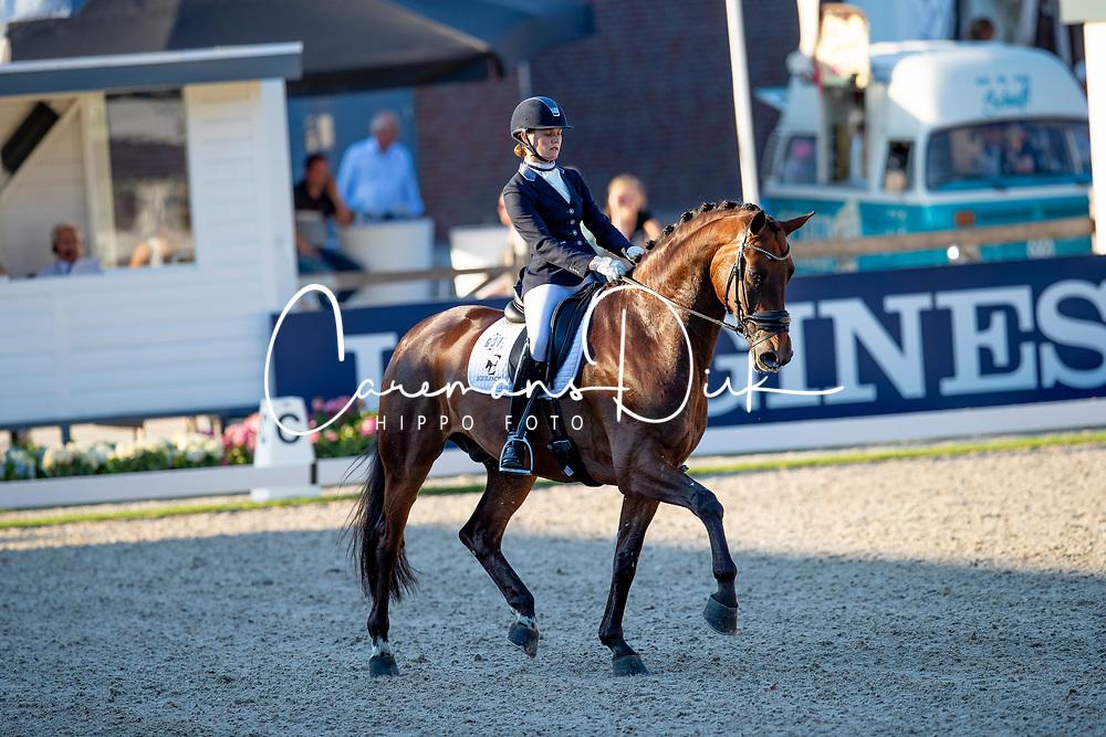 Malan Ingrid, RSA, Haeden<br /> World ChampionshipsYoung Dressage Horses<br /> Ermelo 2018<br /> © Hippo Foto - Dirk Caremans