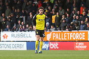 Burton Albion midfielder Ben Fox (12) during the EFL Sky Bet League 1 match between Burton Albion and Luton Town at the Pirelli Stadium, Burton upon Trent, England on 27 April 2019.