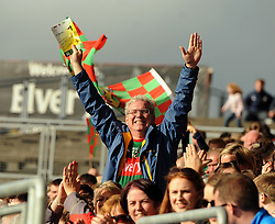 Supporters rejoice as Mayo&rsquo;s football summer journey continues through the qualifers after a close-run encounter against Derry on saturday night last.<br />Pic Conor McKeown