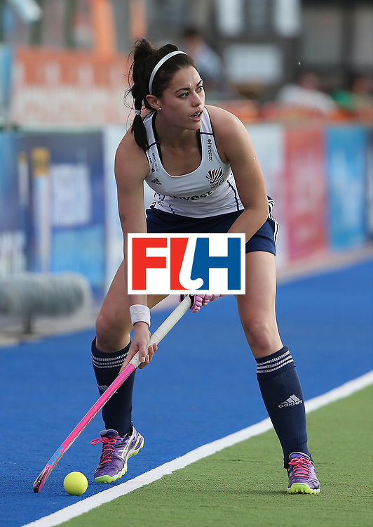 ROSARIO, ARGENTINA - DECEMBER 06: Sam Quek of Great Britain in action against China during Day 2 of the Hockey World League Final Rosario 2015 at El Estadio Mundialista on December 6, 2015 in Rosario, Argentina. (Photo by Chris Brunskill/Getty Images) *** Local caption *** Sam Quek