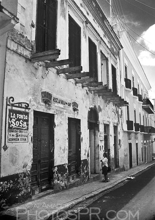 Calle San José old fondita ( La Fonda de Sosa )