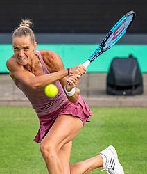 13-06-2019 NED: Libema Open, Rosmalen Grass Court Tennis Championships / Kiki Bertens vs. Arantxa Rus (photo) in second round.