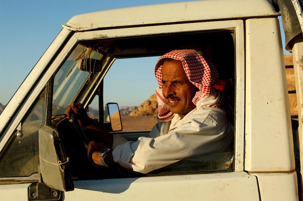 Local Guide, Wadi Rum, The Desert, Jordan, Middle East