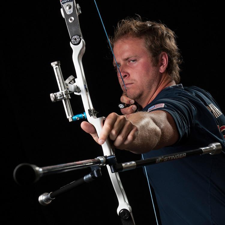 Archery Portrait. USA Archery client of Pixl Project.