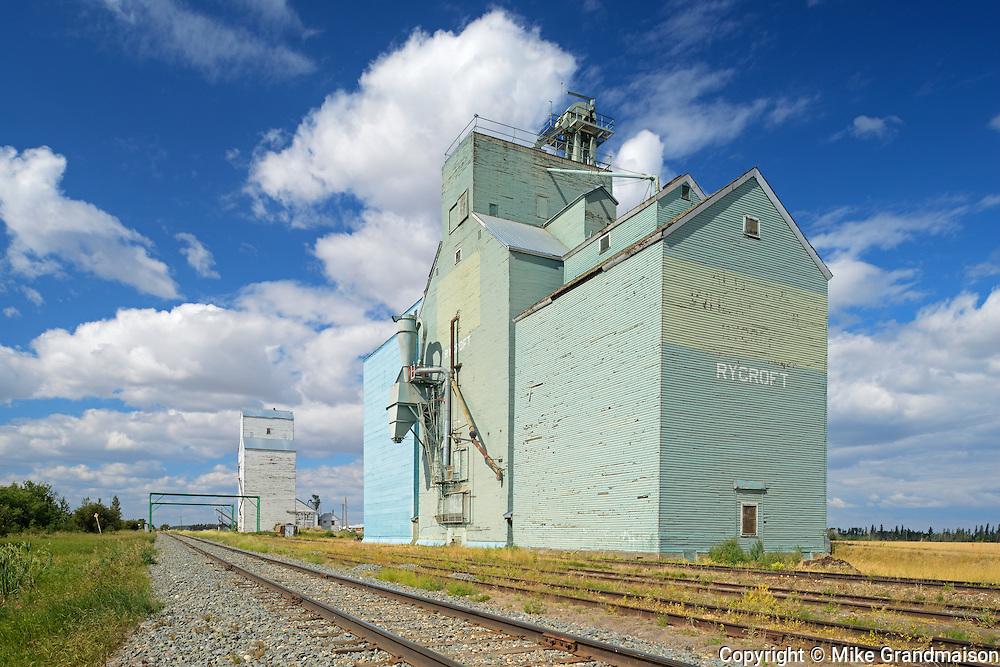 Grain elevator<br />Rycroft<br />Alberta<br />Canada