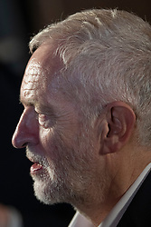 © Licensed to London News Pictures. 26/11/2019. Falmouth Cornwall, UK. Labour leader Jeremy Corbyn speaks at a Green energy Labour rally in the Princess Pavilion in Falmouth Cornwall this evening. Photo credit: MARK HEMSWORTH/LNP