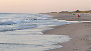 Sylt, Germany. Kampen, Grande Plage. Sunset at the beach.