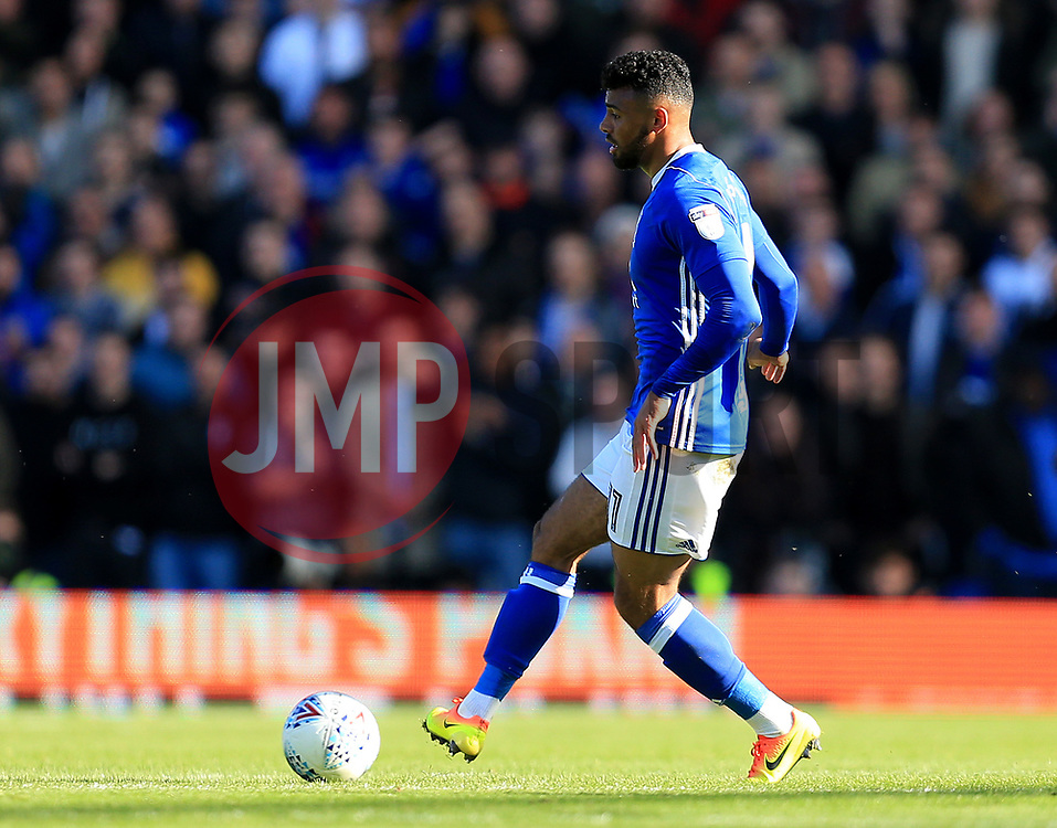 Isaac Vassell of Birmingham City - Mandatory by-line: Paul Roberts/JMP - 29/10/2017 - FOOTBALL - St Andrew's Stadium - Birmingham, England - Birmingham City v Aston Villa - Skybet Championship