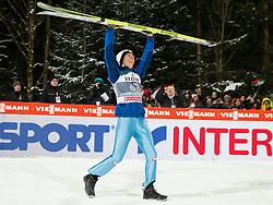 06.01.2015, Paul Ausserleitner Schanze, Bischofshofen, AUT, FIS Ski Sprung Weltcup, 63. Vierschanzentournee, Siegerehrung Gesamtwertung, im Bild Stefan Kraft (AUT, 1. Platz, Gesamtwertung) // 1st placed overall standing Stefan Kraft of Austria during Overall Award ceremony of 63rd Four Hills Tournament of FIS Ski Jumping World Cup at the Paul Ausserleitner Schanze, Bischofshofen, Austria on 2015/01/06. EXPA Pictures © 2015, PhotoCredit: EXPA/ Johann Groder