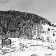 Chalets At Blatten, Winter