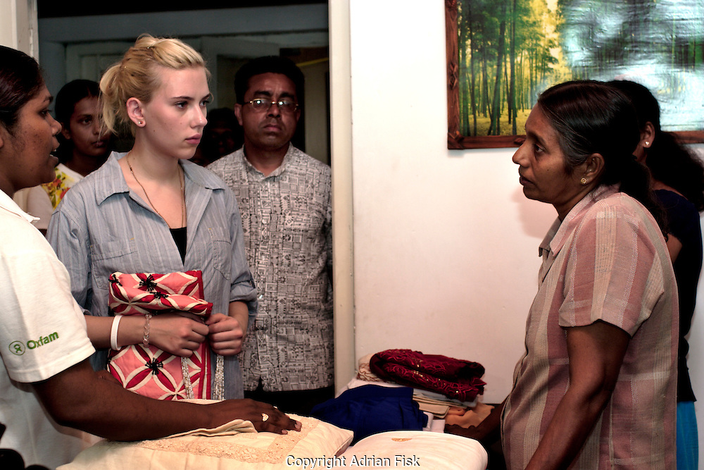 Survivours of the Tsunami tell Scarlett their individual epic tales of trauma and survival. BRAC is an organisation set up to help such people overcome the emotional and financial burdon of the Tsunami.