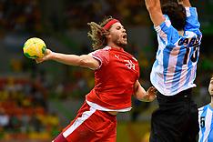20160807 Rio 2016 Olympics - Håndbold Danmark-Argentina