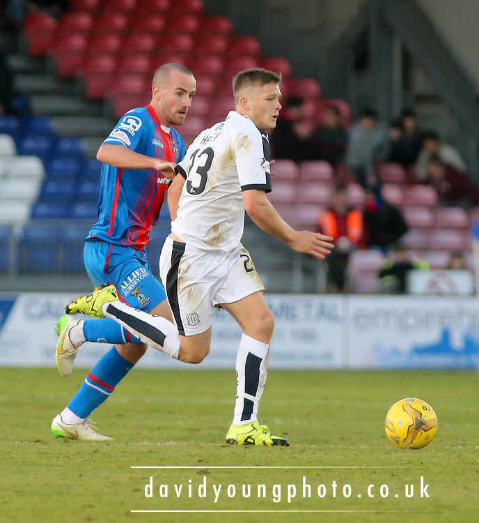 Dundee&rsquo;s Rhys Healy - Inverness Caledonian Thistle v Dundee at Caledonian Stadium, Inverness<br /> <br />  - &copy; David Young - www.davidyoungphoto.co.uk - email: davidyoungphoto@gmail.com