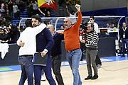 DESCRIZIONE : TRAPANI Lega A 2015-16 Betaland Capo d Orlando Umana Venezia  <br /> GIOCATORE :  Enzo Sindoni<br /> CATEGORIA :  VIP<br /> SQUADRA : Betaland Orlandina Basket <br /> EVENTO : Campionato Lega A 2015-2016 <br /> GARA : Betaland Orlandina UPEA Basket Umana Venezia <br /> DATA : 24/01/2016<br /> SPORT : Pallacanestro <br /> AUTORE : Agenzia Ciamillo-Castoria/G. Pappalardo <br /> Galleria : Lega Basket A 2015-2016 <br /> Fotonotizia : Capo dOrlando Lega A 2015-16 Betaland Capo d Orlando Umana Venezia
